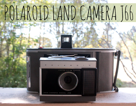 polaroid land camera J66