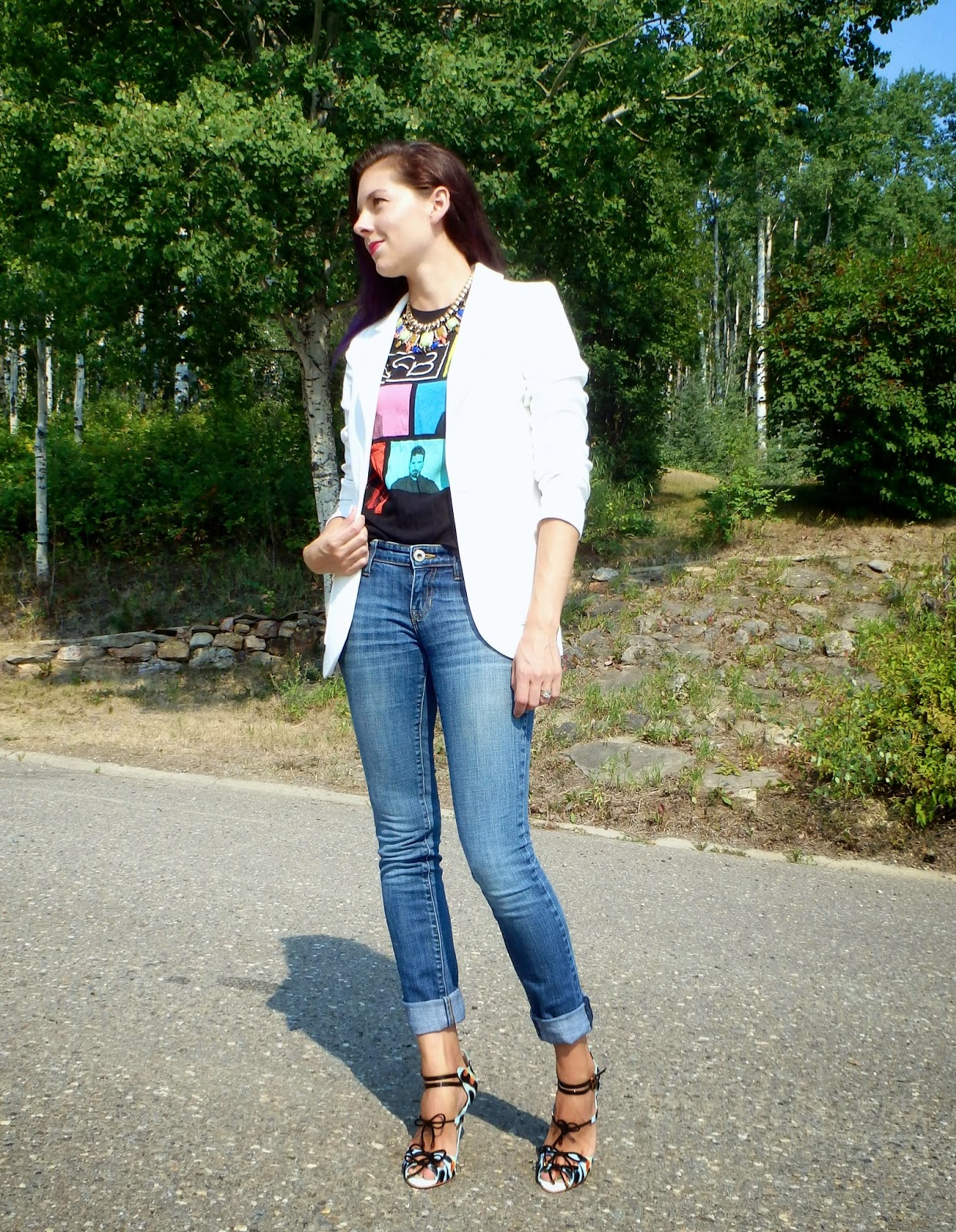 Canadian Fashion Blogger, Wear a Concert T-shirt