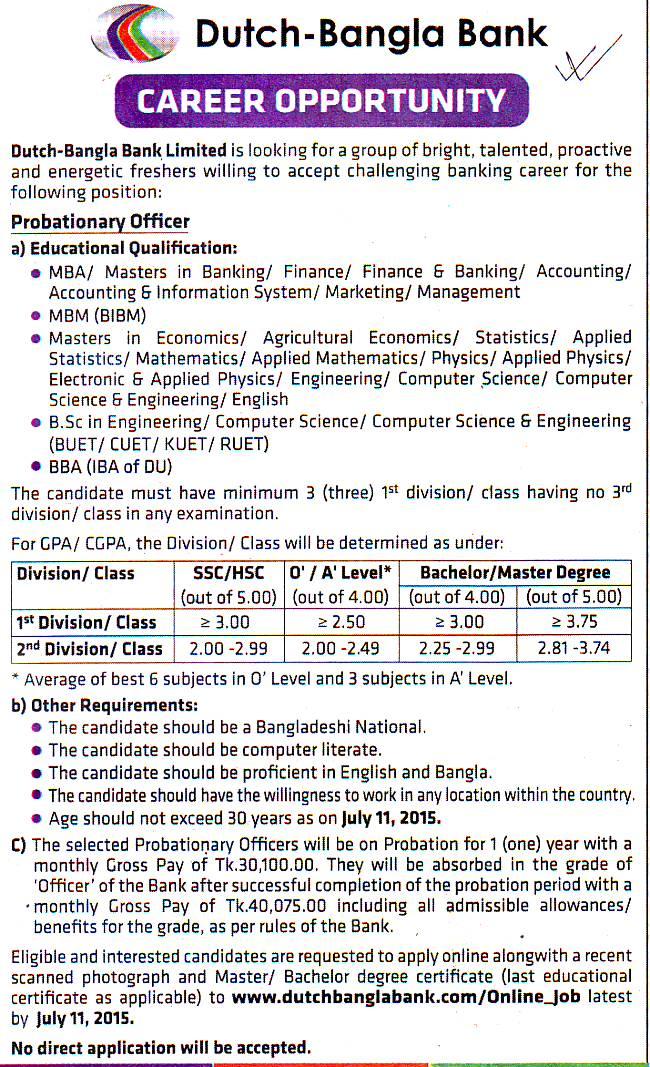 human resource department of dutch bangla bank limited in bangladesh Internship report on hr policy & practices of dutch –bangla bank ltd view/ open internship-report-finaldocx (3543kb) date 2018-09-26 author saha, pialy metadata show full item record.