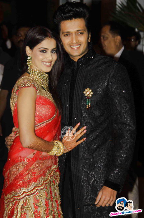 Ritesh Deshmukh And Genelia DSouza Wedding Dulha Amp Dulhan