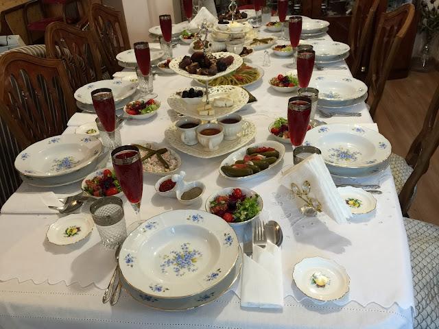 iftar sofraları, sahra