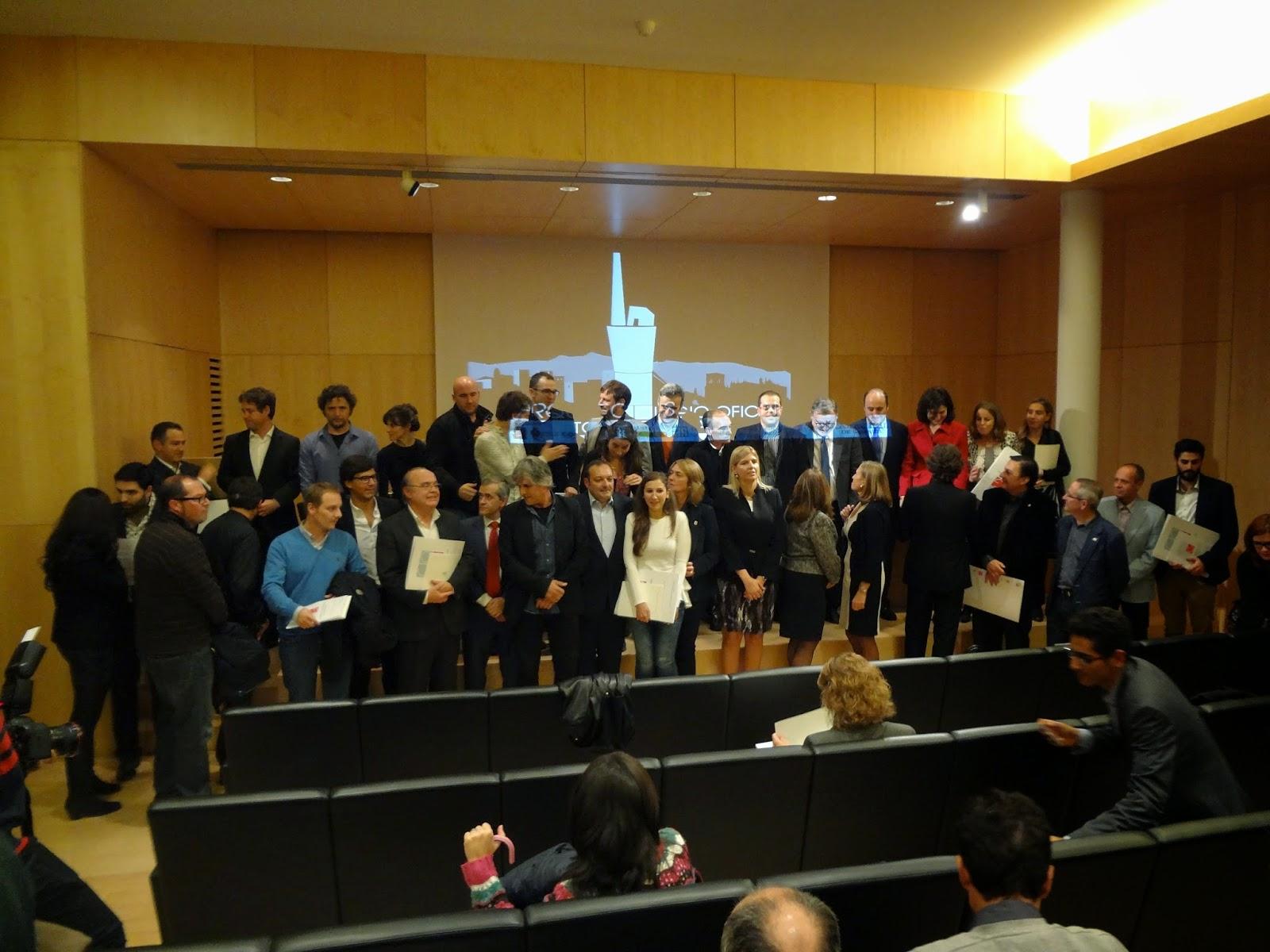 Gij n arquitectura blog acto de entrega de premios - Arquitectos de granada ...