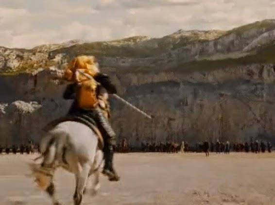 Daario y el jinete de Meereen episodio 4x03 - Juego de Tronos en los siete reinos