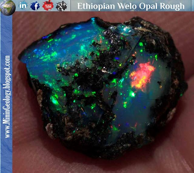 Ethiopian Welo Opal Rough