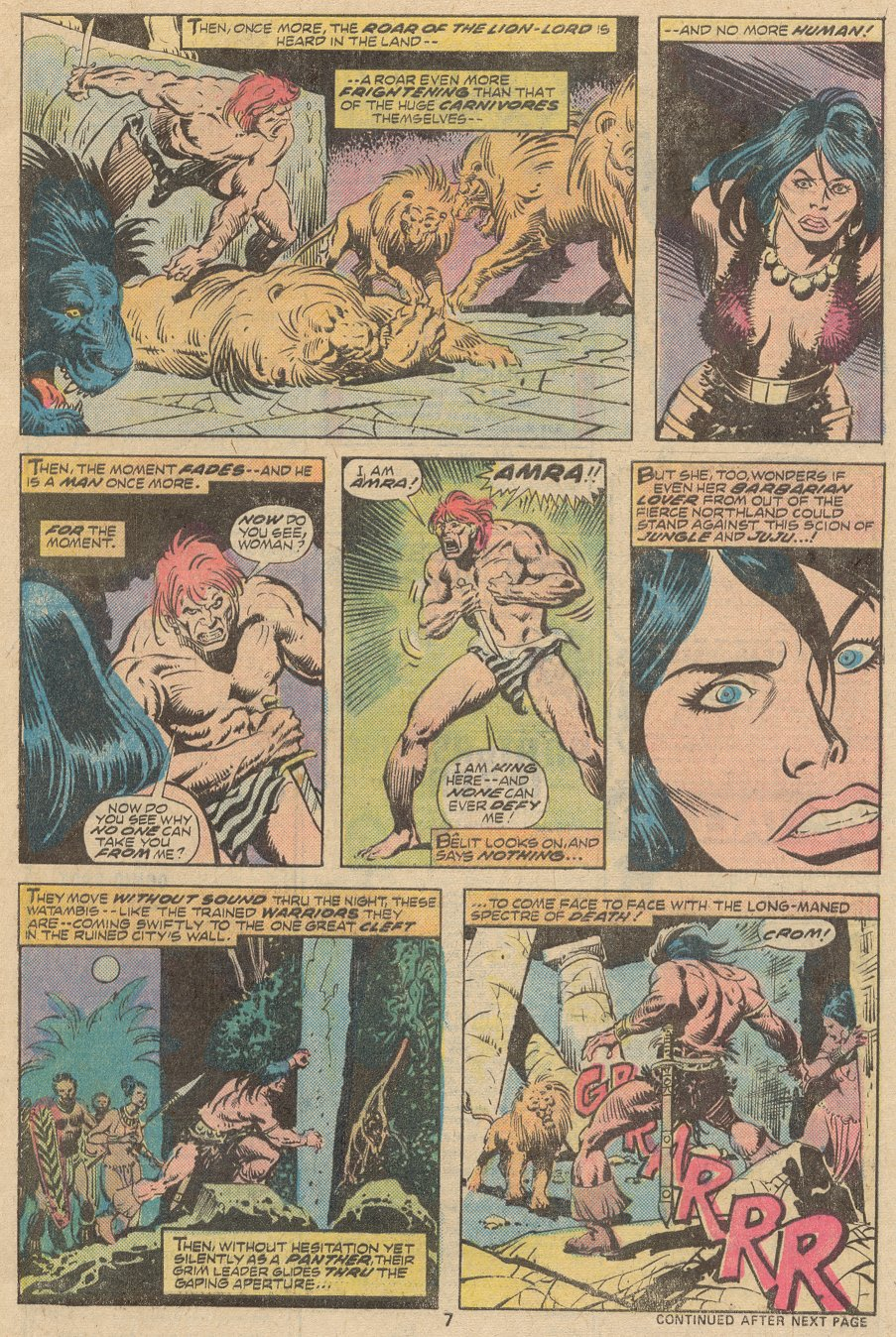 Conan the Barbarian (1970) Issue #63 #75 - English 6