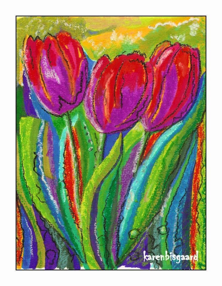 Link: Karens Postkort Malerier