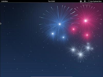Fedora 17 Alpha GNOME 3
