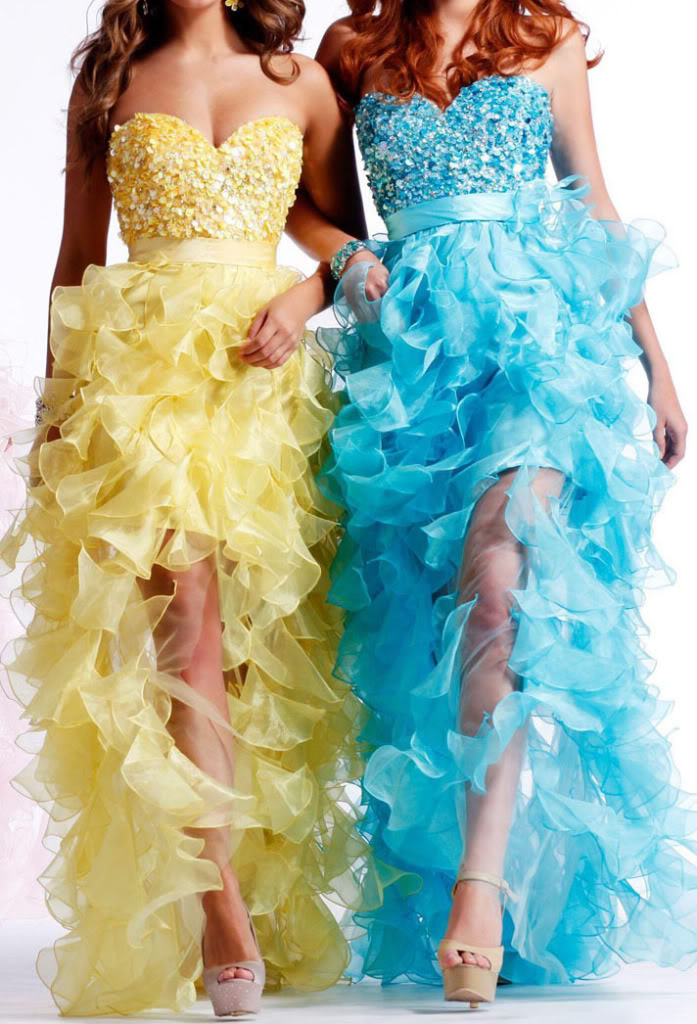 Colorful wedding dress designs rainbow ideas