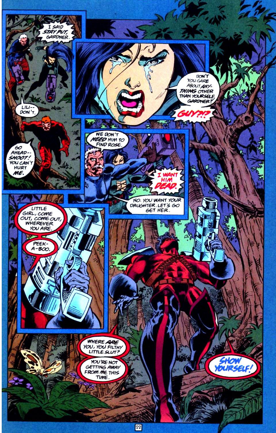 Deathstroke (1991) Issue #44 #49 - English 23