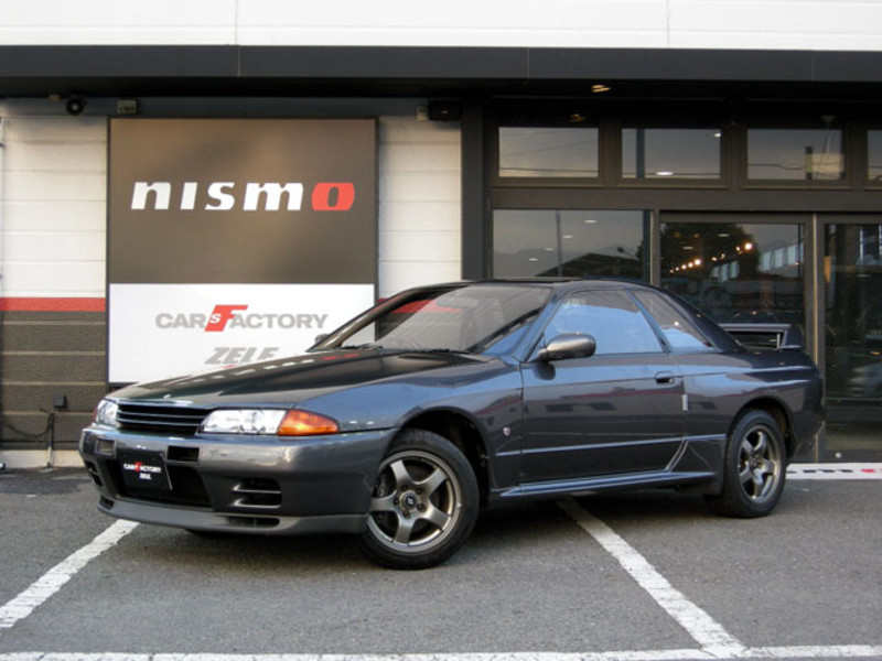 KH2. Gunmetal Grey. Popular R32 Color. This Is A Nismo R32.