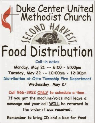 5-21/22/27 Food Distribution Duke Center