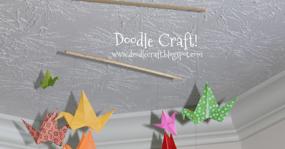 paper crane folding instructions