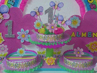 Decoracion de fiestas infantiles con flores - Decoracion de mesas infantiles ...