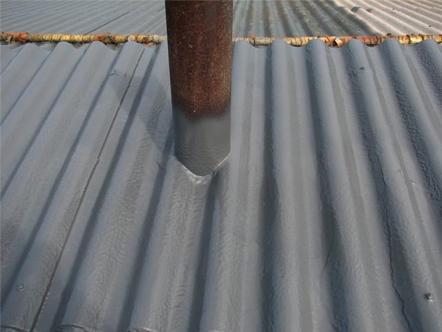 limpiamos chimeneas de tejados de uralita