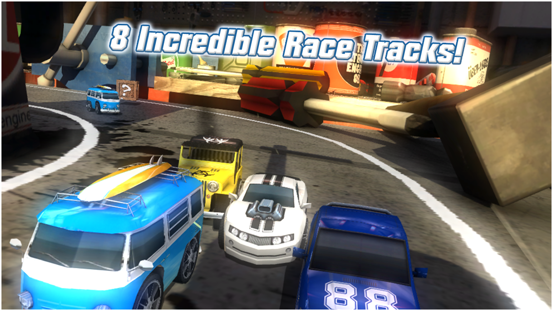 Table Top Racing 1.0.10 MOD APK + DATA (Unlimited Money)