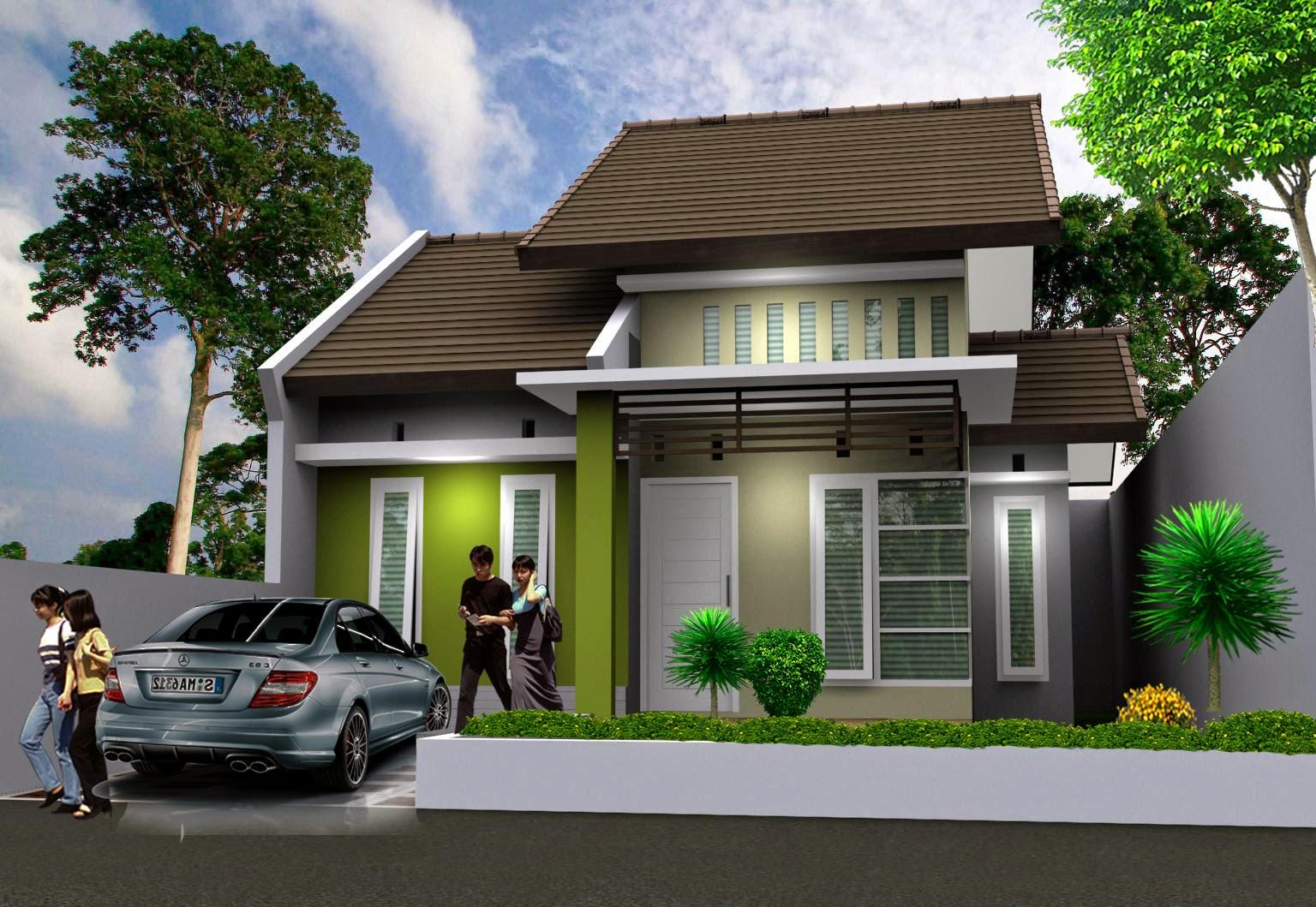 membangun rumah minimalis unik