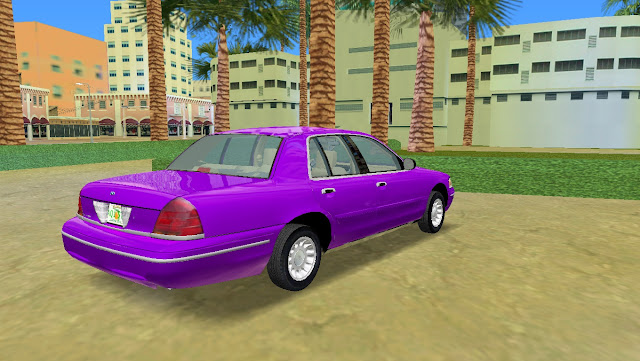 Ford Crown Victoria 2003 GTA Vice City