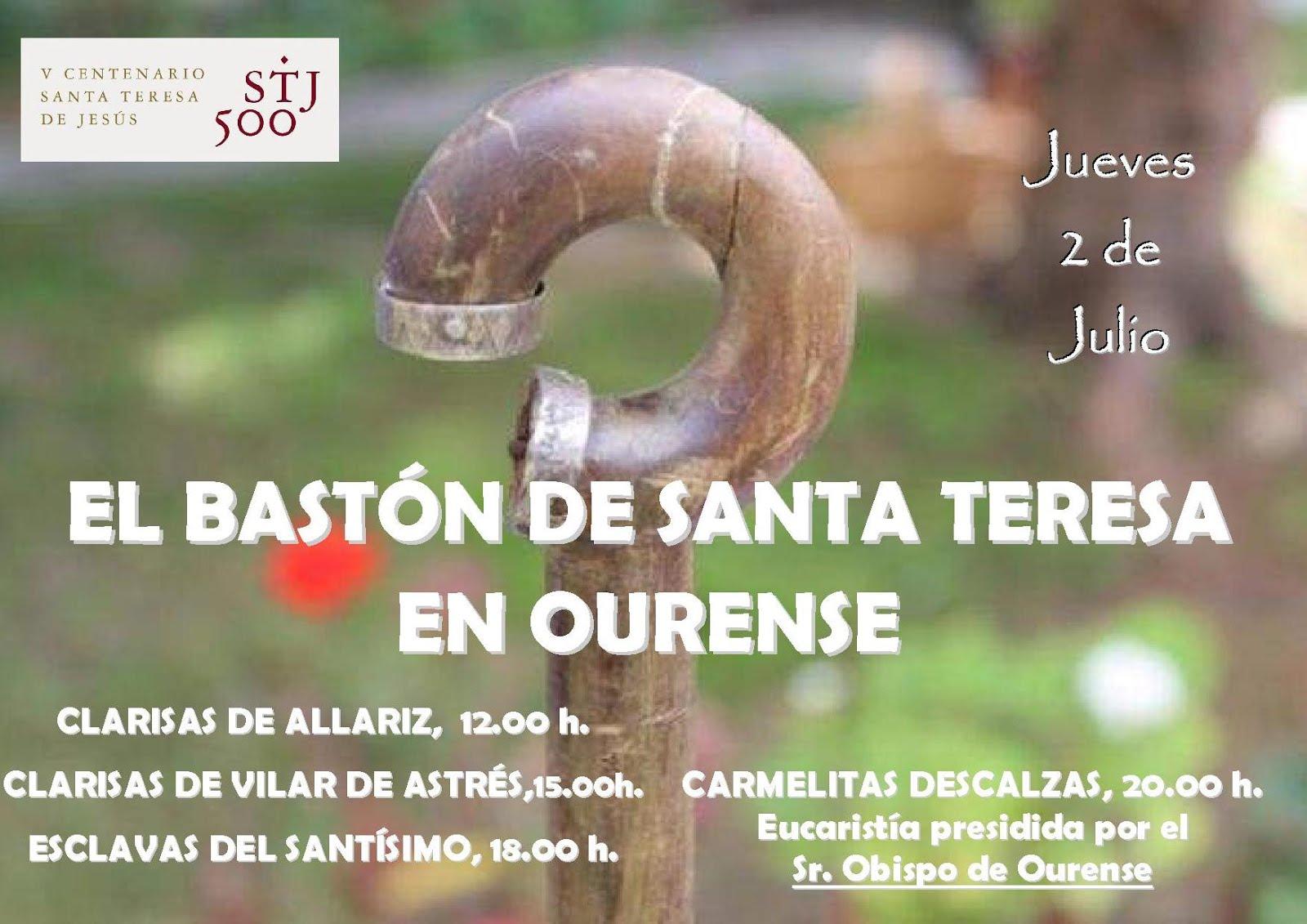 Bastón de Santa Teresa