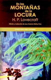 En las montañas de la locura de H.P.Lovecraft