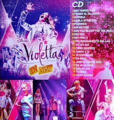Participación en nuevo CD+DVD de VIOLETTA EN VIVO! Lanzamiento Noviembre 2013