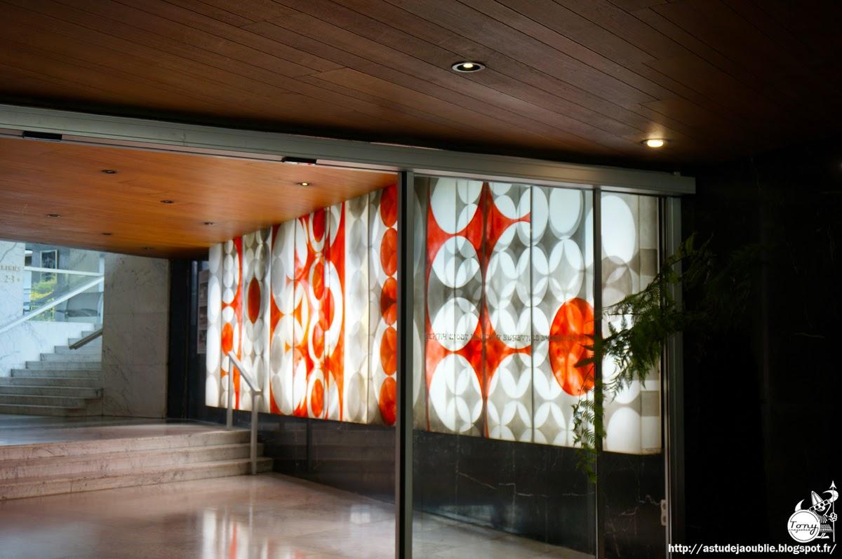 As tu d j oubli 50s 60s 70s architecture paris for Le architecte