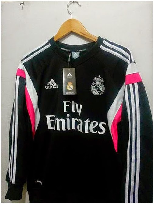 Sweater Real Madrid Hitam Grade Original 2015