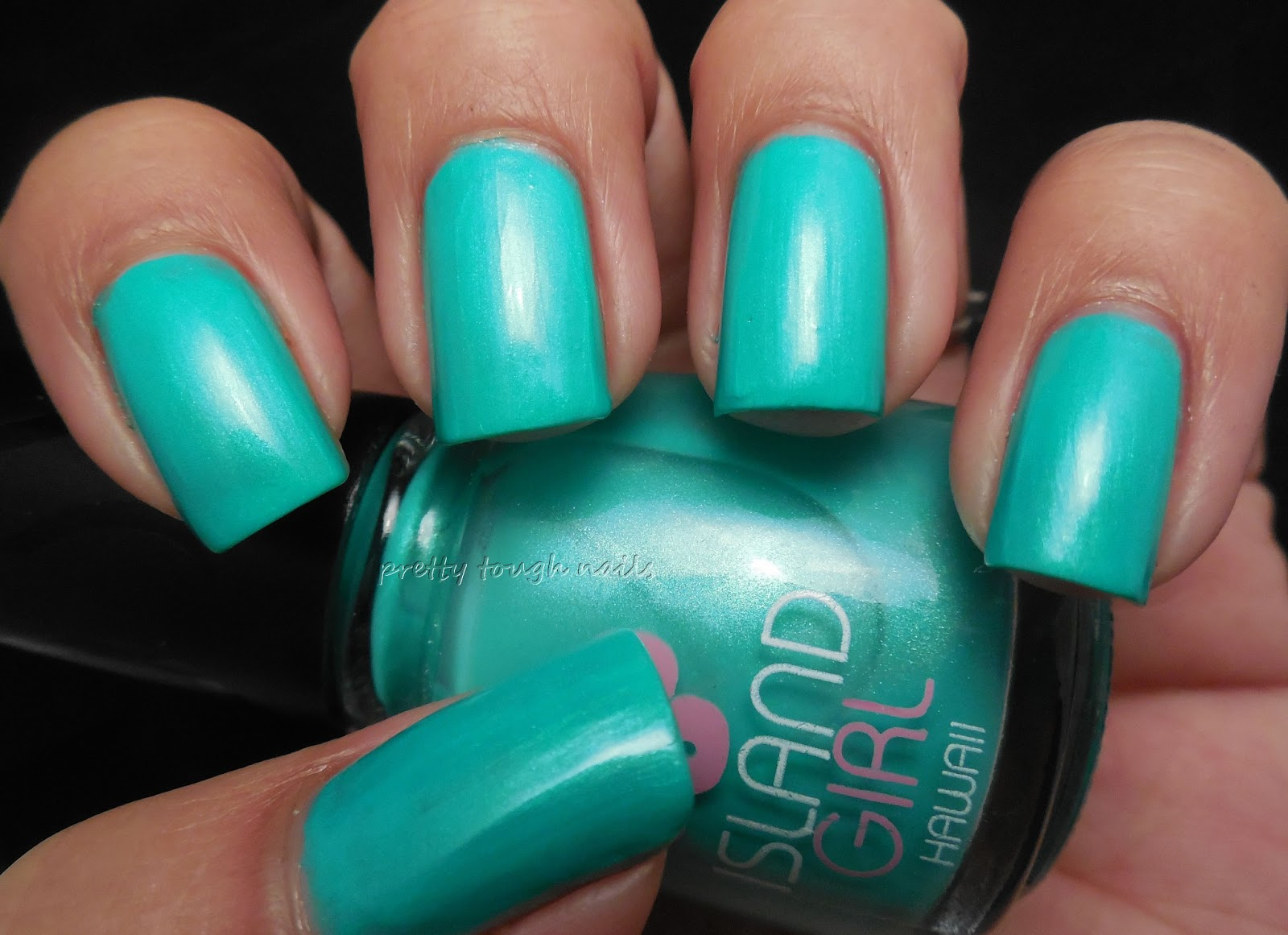 pretty::tough::nails::: Island Girl Big Island Volcano Swatch And Review