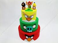 Bolo Cenográfico Angry Birds Porto Alegre