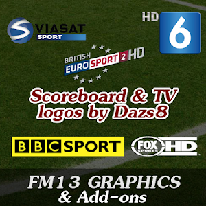FM13 Graphics Scoreboard and TV logos