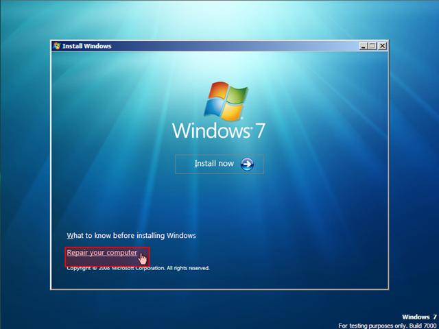how to make a boot disc for windows 7