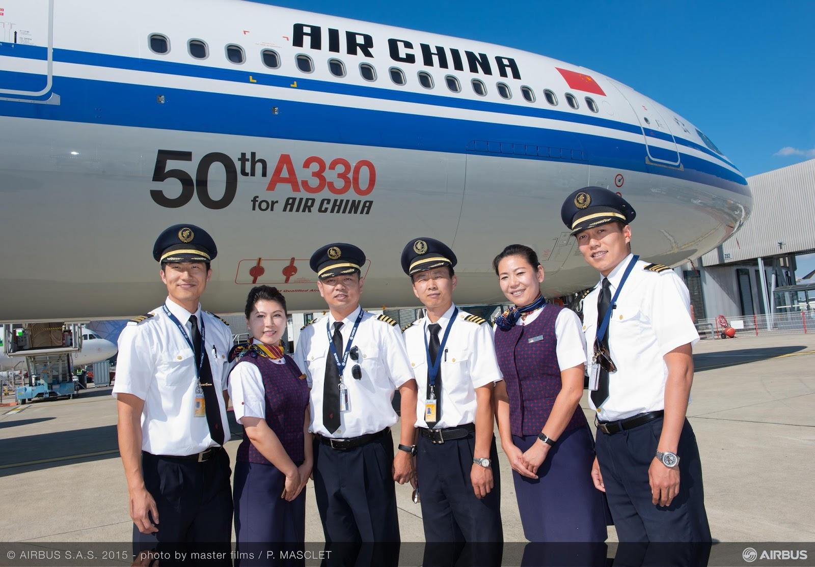 É MAIS QUE VOAR | Air China recebe seu 50º A330