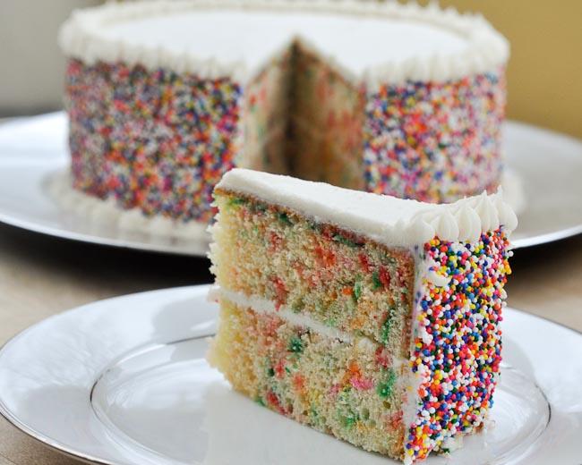 Sprinkle Cake Batter Recipe