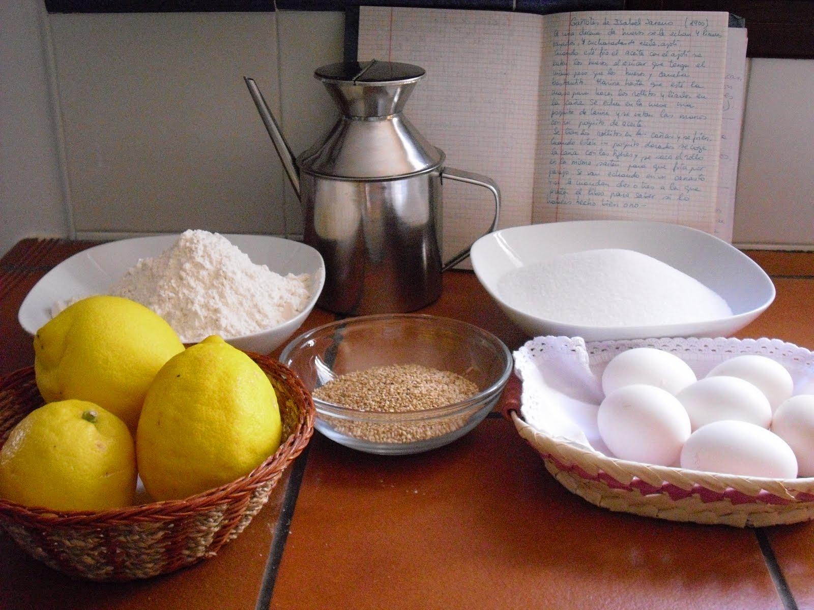 La receta de los gañotes de Ubrique