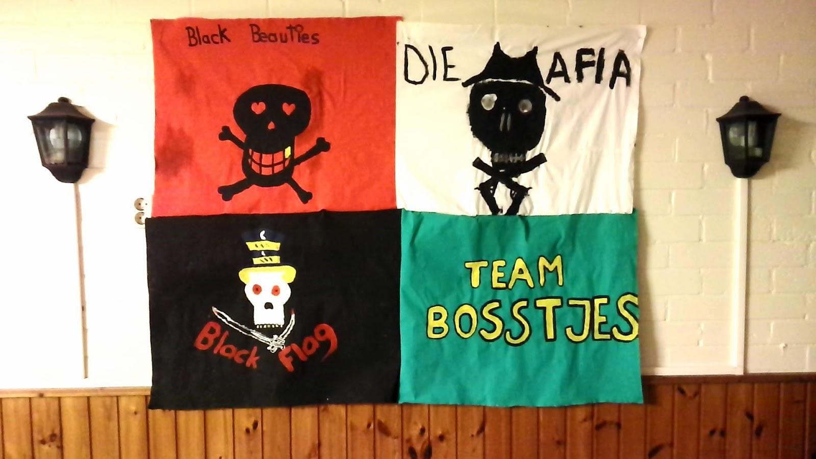 Flaggen der Gruppen