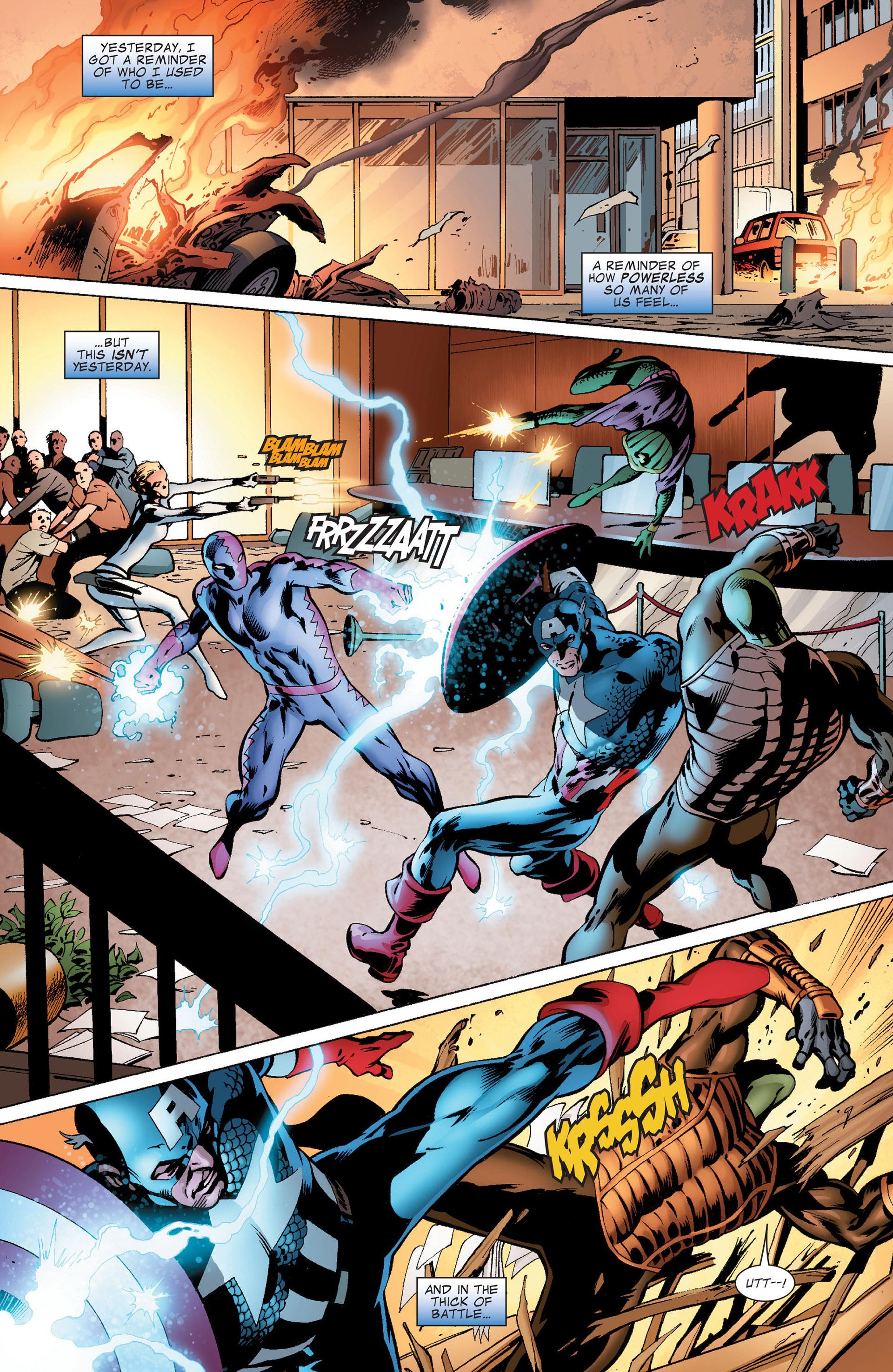 Captain America (2011) Issue #8 #8 - English 3