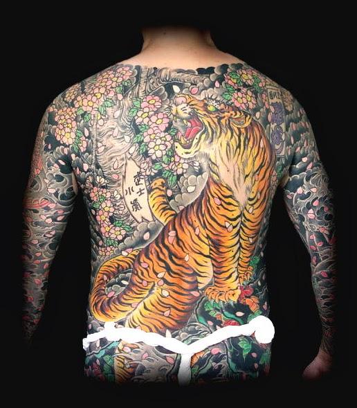 японские татуировки и их значение - Японские тату и их значение Тату змея Татуировка тигр