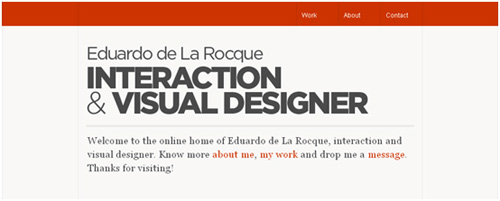 focal point in web design