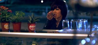 T-ara Lovey Dovey stills Qri drinking