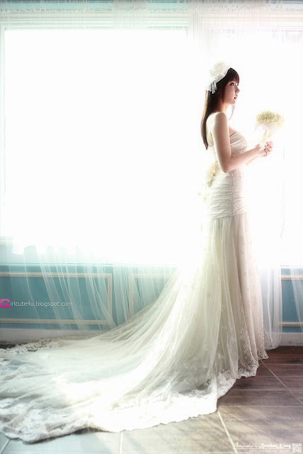 2 Yeon Da Bin in Wedding Gowns-Very cute asian girl - girlcute4u.blogspot.com