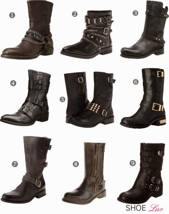 shoe trend alert s mid calf moto boots