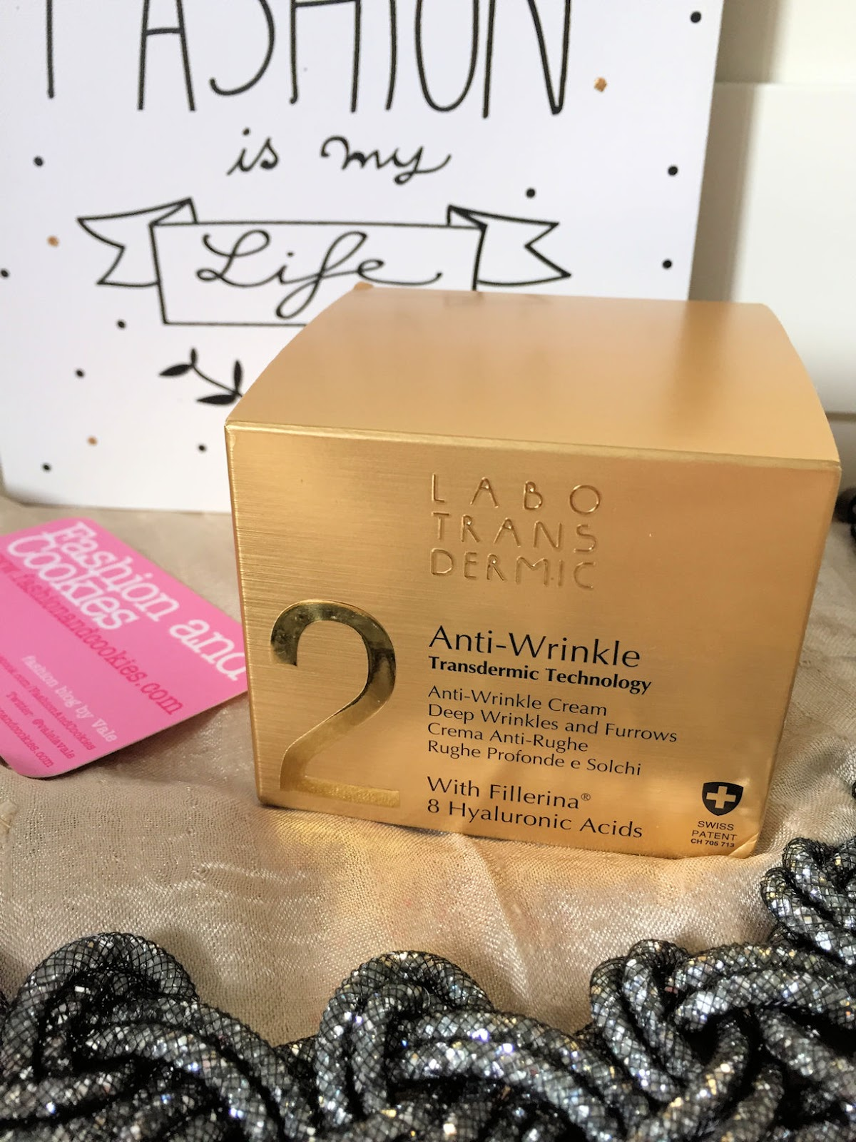 Labo Suisse Transdermic anti-wrinkle cream crema antirughe, best anti wrinkle cream review on Fashion and Cookies beauty blog, beauty blogger