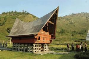 Download this Rumah Adat Balai Batak Toba picture