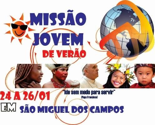 Juventude Missionária de Alagoas promove Missão de Verão