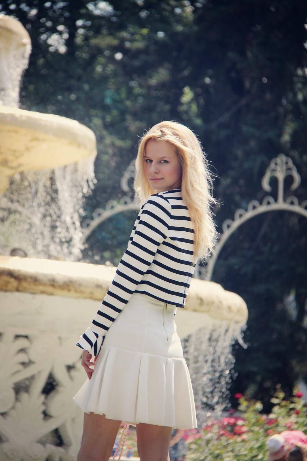 Ирина Павлова блогер, как носить короткий топ, летние луки