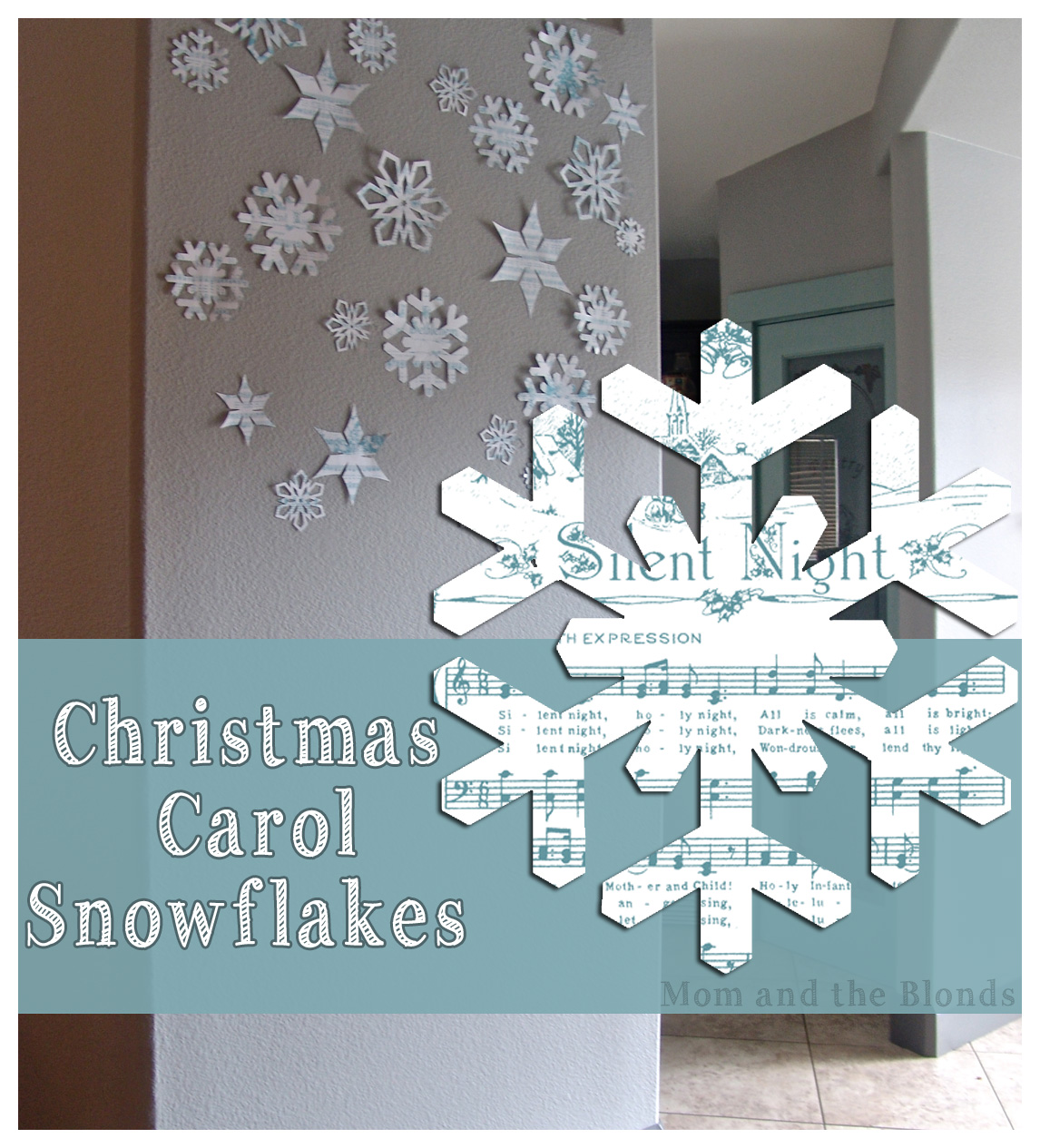 From the Carriage House: ** Christmas Carol Snowflakes **