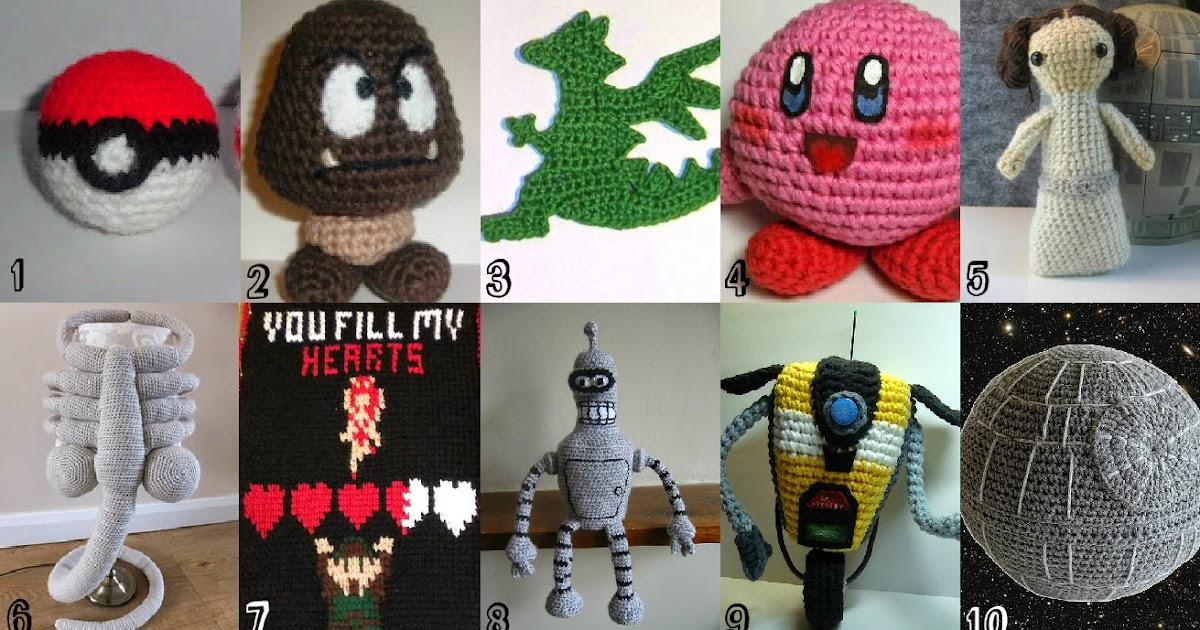 Free Crochet Pattern Roundup Geeky Things
