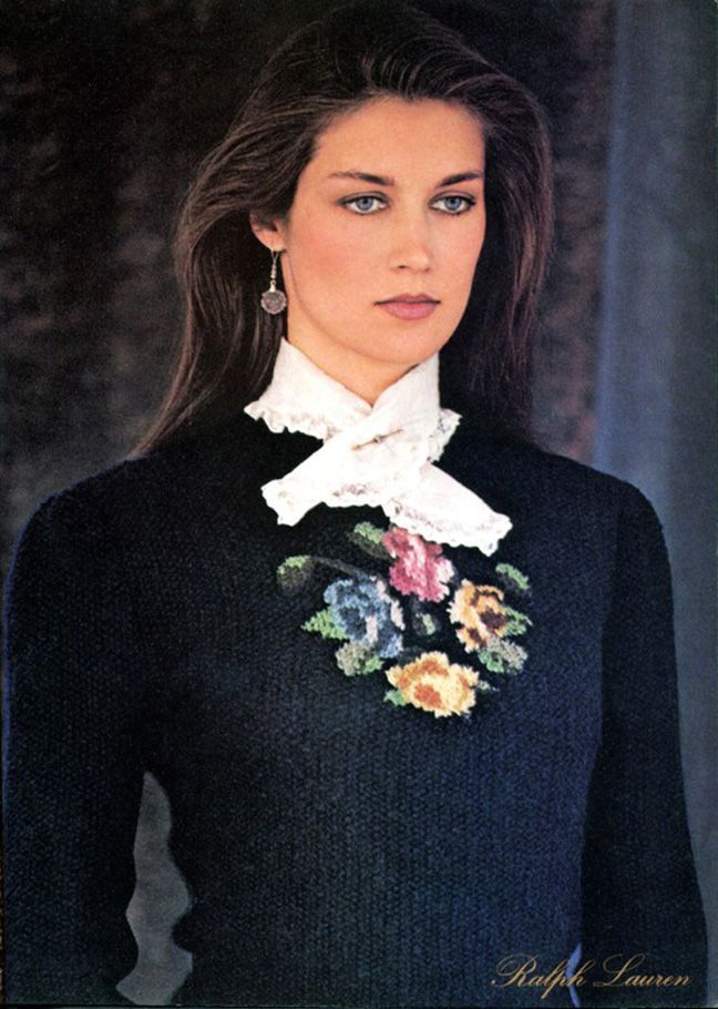 andrew's blog: Clotilde for Ralph Lauren (1981