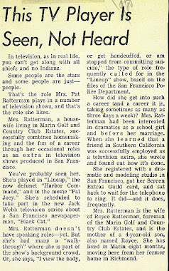 Newspaper Article 1958
