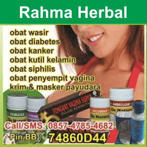 Konsultasi dan KONTAK RAHMA HERBAL