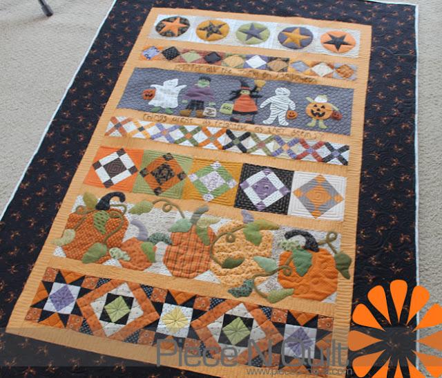 Halloween Quilting Ideas : Piece N Quilt: Halloween Saturday Sampler